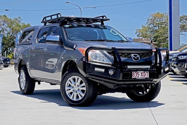 Used Mazda BT-50 UP0YF1 XTR, 2012 Mazda BT-50 UP0YF1 XTR Silver 6 Speed Manual Utility