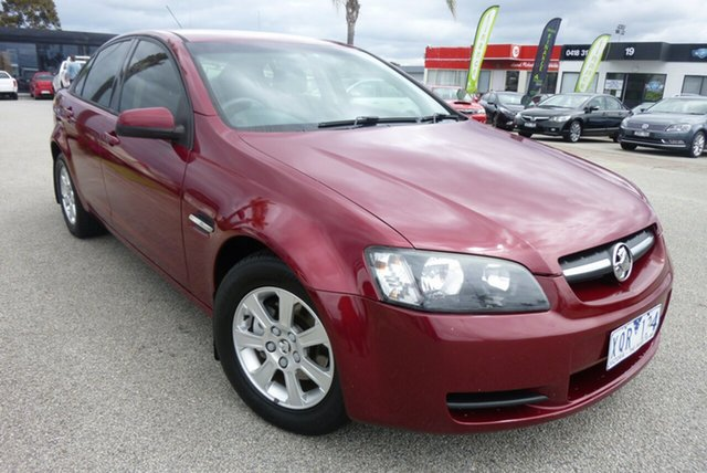 Used Holden Commodore VE MY09 Omega, 2008 Holden Commodore VE MY09 Omega Burgundy 4 Speed Automatic Sedan