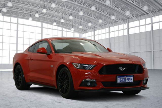 Used Ford Mustang FM GT Fastback SelectShift, 2016 Ford Mustang FM GT Fastback SelectShift Red 6 Speed Sports Automatic Fastback