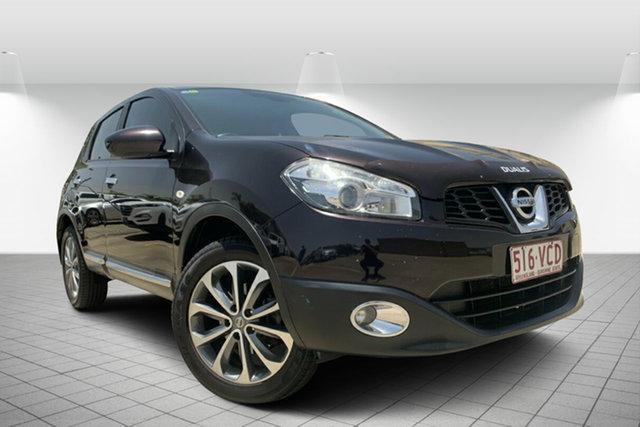 Used Nissan Dualis J10 Series II MY2010 Ti Hatch, 2011 Nissan Dualis J10 Series II MY2010 Ti Hatch Black 6 Speed Manual Hatchback