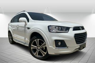 2016 Holden Captiva CG MY16 LTZ AWD White 6 Speed Sports Automatic Wagon.