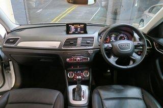 2013 Audi Q3 8U MY13 TFSI S Tronic Quattro White 7 Speed Sports Automatic Dual Clutch Wagon.