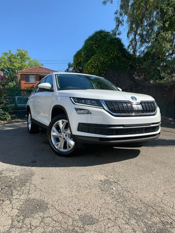 New Skoda Kodiaq NS MY20 132TSI DSG, 2019 Skoda Kodiaq NS MY20 132TSI DSG White 7 Speed Sports Automatic Dual Clutch Wagon