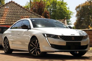 2019 Peugeot 508 R8 MY19 GT White 8 Speed Sports Automatic Fastback.