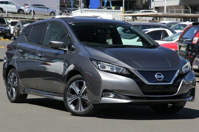 New Nissan Leaf ZE1 St Marys, 2020 Nissan Leaf ZE1 Gun Metallic 1 Speed Reduction Gear Hatchback