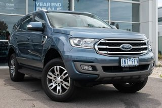 2018 Ford Everest UA II 2019.00MY Trend RWD 10 Speed Sports Automatic Wagon