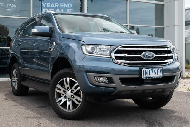 Used Ford Everest UA II 2019.00MY Trend RWD, 2018 Ford Everest UA II 2019.00MY Trend RWD 10 Speed Sports Automatic Wagon