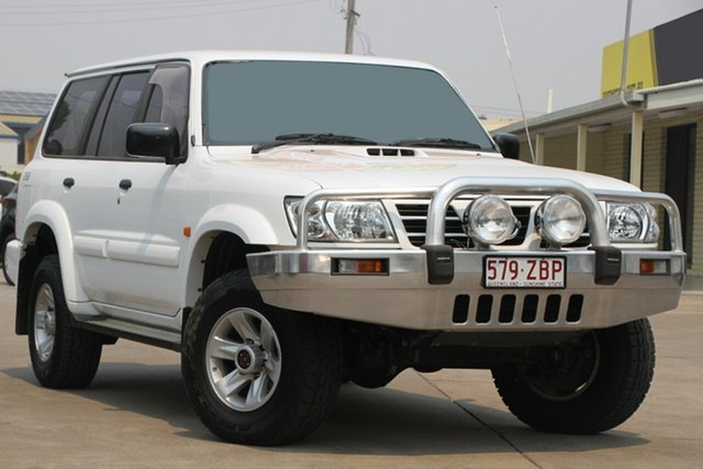 Used Nissan Patrol GU III MY2003 ST-L, 2003 Nissan Patrol GU III MY2003 ST-L White 5 Speed Manual Wagon