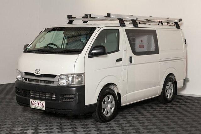 Used Toyota HiAce KDH201R MY08 LWB, 2009 Toyota HiAce KDH201R MY08 LWB French Vanilla 5 Speed Manual Van