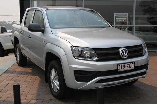 Demo Volkswagen Amarok 2H MY19 TDI420 4MOTION Perm Core, 2019 Volkswagen Amarok 2H MY19 TDI420 4MOTION Perm Core Reflex Silver 8 Speed Automatic Utility