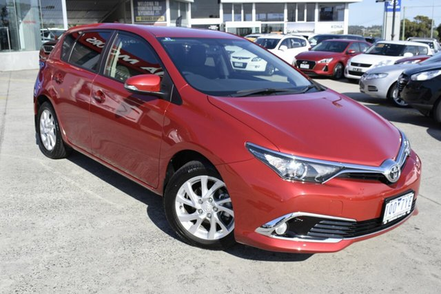 Used Toyota Corolla ZRE182R Ascent Sport S-CVT, 2017 Toyota Corolla ZRE182R Ascent Sport S-CVT Red 7 Speed Constant Variable Hatchback