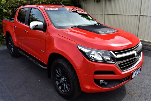 Demo Holden Colorado RG MY19 LTZ Pickup Crew Cab, 2019 Holden Colorado RG MY19 LTZ Pickup Crew Cab Absolute Red 6 Speed Sports Automatic Utility