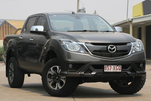 Used Mazda BT-50 UR0YG1 XTR, 2017 Mazda BT-50 UR0YG1 XTR Titanium Flash 6 Speed Manual Utility