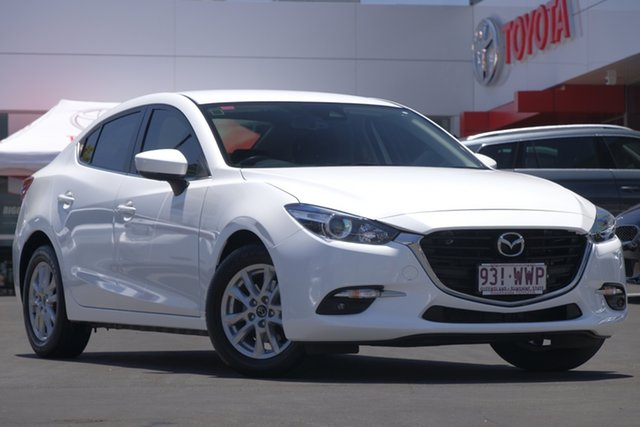 Used Mazda 3 BM5276 Maxx SKYACTIV-MT, 2016 Mazda 3 BM5276 Maxx SKYACTIV-MT Snowflake Pearl 6 Speed Manual Sedan