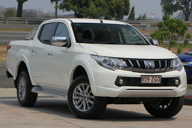 Used Mitsubishi Triton MQ MY18 GLS Double Cab, 2018 Mitsubishi Triton MQ MY18 GLS Double Cab White 6 Speed Manual Utility