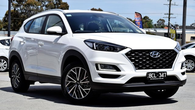 Demo Hyundai Tucson TL4 MY20 Active X 2WD, 2019 Hyundai Tucson TL4 MY20 Active X 2WD Pure White 6 Speed Automatic Wagon
