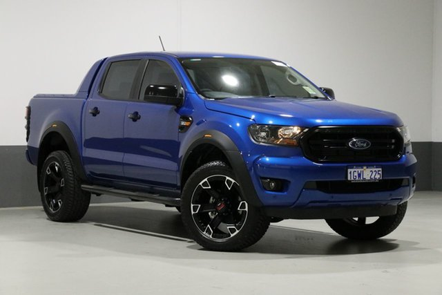 Used Ford Ranger PX MkIII MY19.75 XLS 3.2 (4x4), 2019 Ford Ranger PX MkIII MY19.75 XLS 3.2 (4x4) Blue 6 Speed Automatic Double Cab Pickup