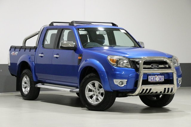 Used Ford Ranger PK XLT (4x4), 2011 Ford Ranger PK XLT (4x4) Blue 5 Speed Automatic Dual Cab Pick-up