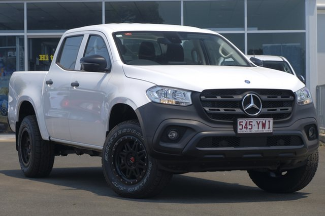 Used Mercedes-Benz X-Class 470 X220d 2WD Pure, 2017 Mercedes-Benz X-Class 470 X220d 2WD Pure White 6 Speed Manual Utility