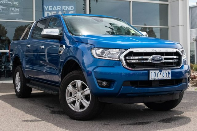 Used Ford Ranger PX MkIII 2019.75MY XLT Pick-up Double Cab, 2019 Ford Ranger PX MkIII 2019.75MY XLT Pick-up Double Cab 6 Speed Sports Automatic Utility