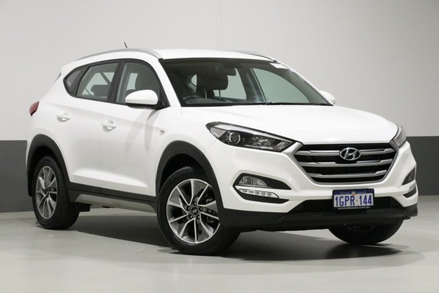 Used Hyundai Tucson TL MY18 Active X (FWD), 2018 Hyundai Tucson TL MY18 Active X (FWD) White 6 Speed Automatic Wagon