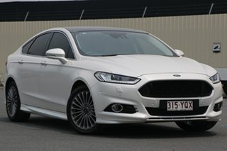 2016 Ford Mondeo MD Titanium PwrShift White 6 Speed Sports Automatic Dual Clutch Hatchback.