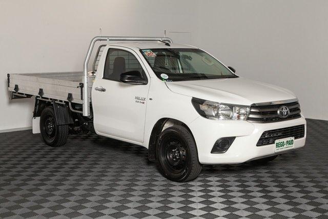 Used Toyota Hilux GUN123R SR 4x2, 2015 Toyota Hilux GUN123R SR 4x2 Glacier 5 speed Manual Cab Chassis