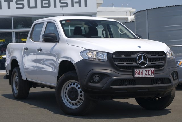 Used Mercedes-Benz X-Class 470 X220d 2WD Pure, 2018 Mercedes-Benz X-Class 470 X220d 2WD Pure White 6 Speed Manual Utility