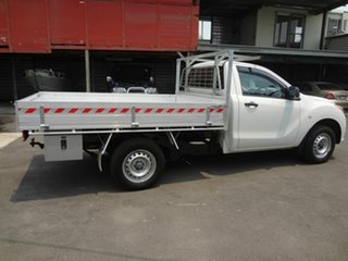 2013 Mazda BT-50 MY13 XT (4x2) White 6 Speed Manual Cab Chassis