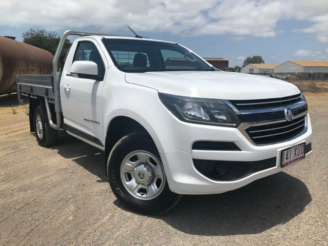 Used Holden Colorado RG MY17 LS, 2017 Holden Colorado RG MY17 LS Summit White 6 Speed Sports Automatic Cab Chassis