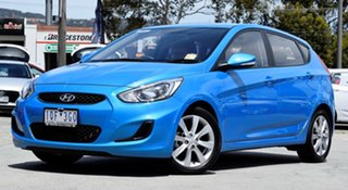 2019 Hyundai Accent RB6 MY19 Sport Blue Lagoon 6 Speed Sports Automatic Hatchback