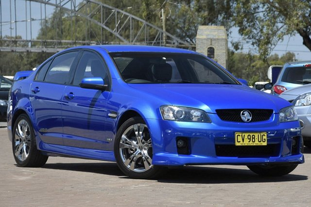 Used Holden Commodore VE II SS V, 2010 Holden Commodore VE II SS V Blue 6 Speed Sports Automatic Sedan
