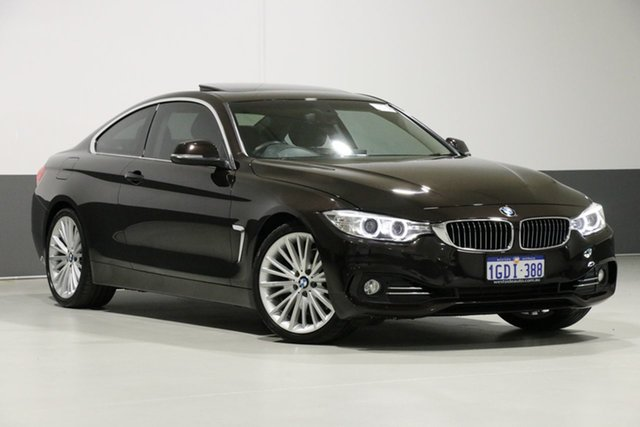 Used BMW 428i F32 Luxury Line, 2013 BMW 428i F32 Luxury Line Bronze 8 Speed Automatic Coupe