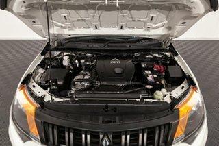 2017 Mitsubishi Triton MQ MY17 GLX 4x2 White 6 speed Manual Cab Chassis