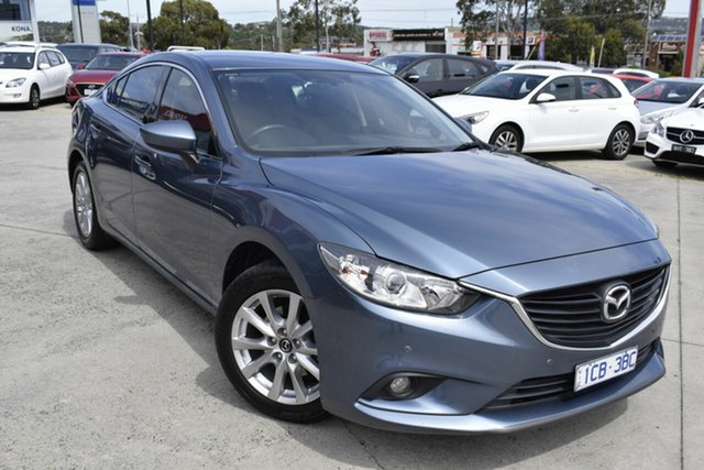 Used Mazda 6 GJ1031 Touring SKYACTIV-Drive, 2014 Mazda 6 GJ1031 Touring SKYACTIV-Drive Blue 6 Speed Sports Automatic Sedan