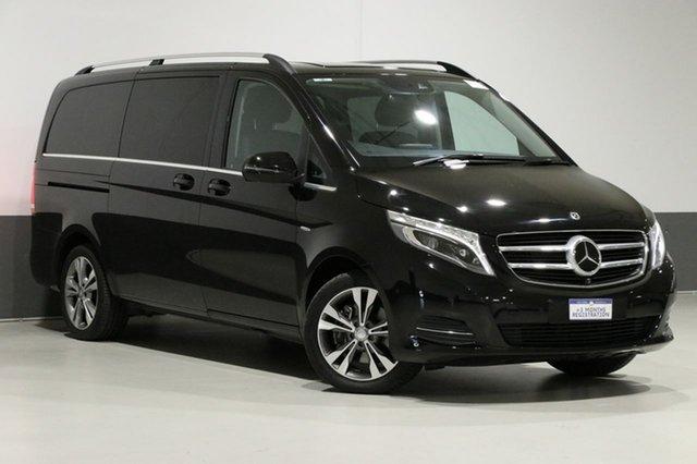 Used Mercedes-Benz V250d 447 MY17 Avantgarde MWB, 2017 Mercedes-Benz V250d 447 MY17 Avantgarde MWB Obsidian Black 7 Speed Automatic Wagon