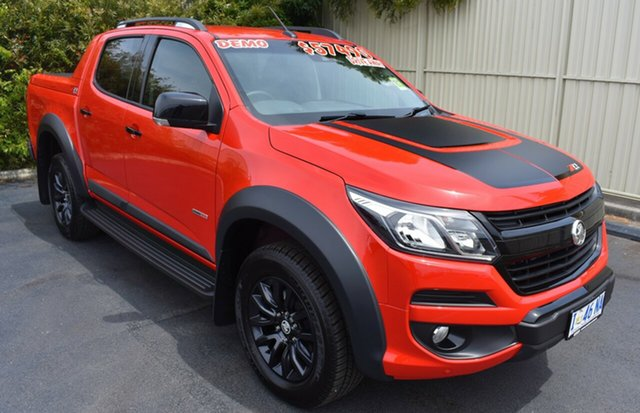 Demo Holden Colorado RG MY19 Z71 Pickup Crew Cab, 2019 Holden Colorado RG MY19 Z71 Pickup Crew Cab Absolute Red 6 Speed Sports Automatic Utility
