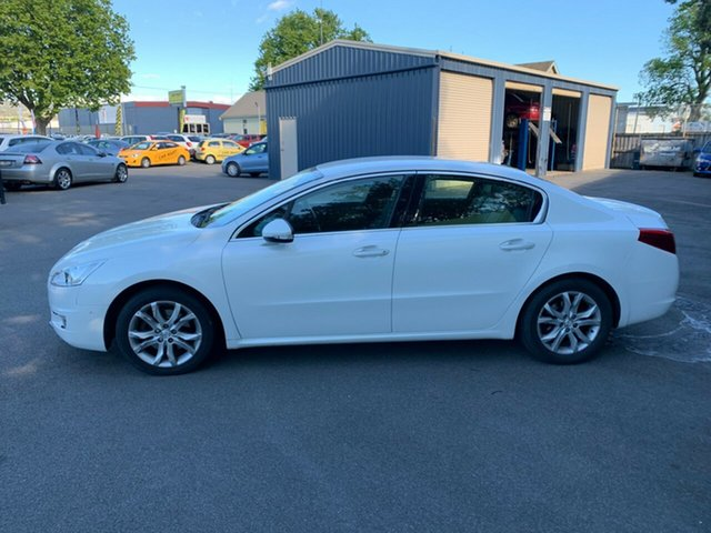 Used Peugeot 508  Allure, 2012 Peugeot 508 Allure White 6 Speed Sports Automatic Sedan