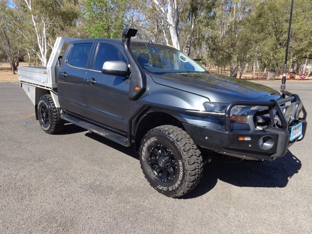 Used Ford Ranger PX MkII XLS 3.2 (4x4), 2016 Ford Ranger PX MkII XLS 3.2 (4x4) Grey 6 Speed Manual Dual Cab Utility
