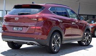 2019 Hyundai Tucson TL3 MY19 Highlander AWD Gemstone Red 8 Speed Sports Automatic Wagon.