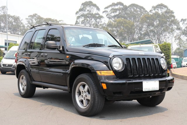 Used Jeep Cherokee KJ MY2005 Extreme Sport, 2005 Jeep Cherokee KJ MY2005 Extreme Sport Black 5 Speed Automatic Wagon
