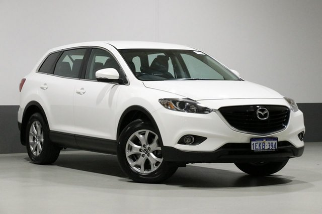 Used Mazda CX-9 MY14 Classic (FWD), 2013 Mazda CX-9 MY14 Classic (FWD) White 6 Speed Auto Activematic Wagon