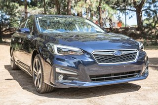 2019 Subaru Impreza G5 MY19 2.0i-S CVT AWD Dark Blue Pearl 7 Speed Constant Variable Hatchback.