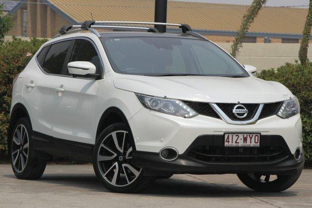 Used Nissan Qashqai J11 TI, 2016 Nissan Qashqai J11 TI Ivory Pearl 1 Speed Constant Variable Wagon