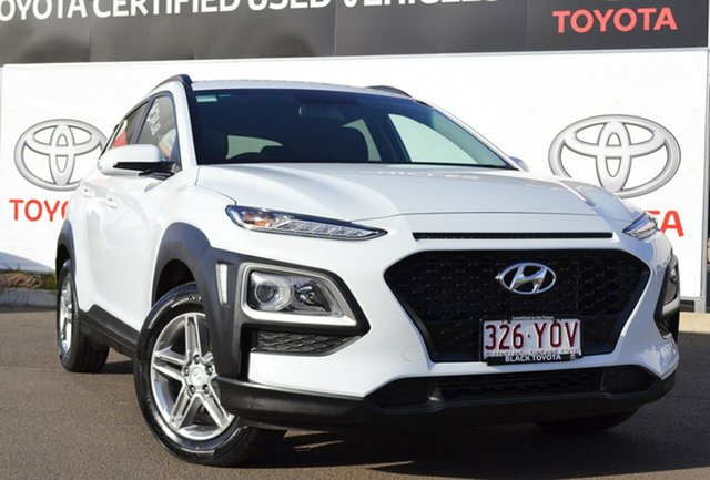 Used Hyundai Kona OS Active (FWD), 2018 Hyundai Kona OS Active (FWD) White 6 Speed Automatic Wagon
