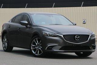 2016 Mazda 6 GL1031 GT SKYACTIV-Drive Machine Grey 6 Speed Sports Automatic Sedan.