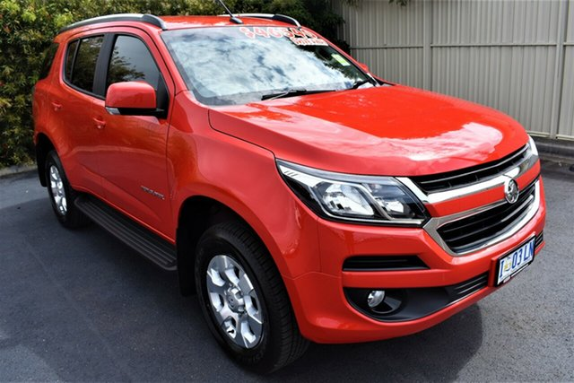 Demo Holden Trailblazer RG MY19 LT, 2019 Holden Trailblazer RG MY19 LT Absolute Red 6 Speed Sports Automatic Wagon