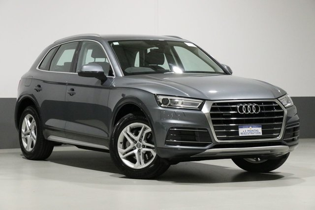 Used Audi Q5 FY MY18 2.0 TDI Quattro Design, 2018 Audi Q5 FY MY18 2.0 TDI Quattro Design Monsoon Grey 7 Speed Auto S-Tronic Wagon