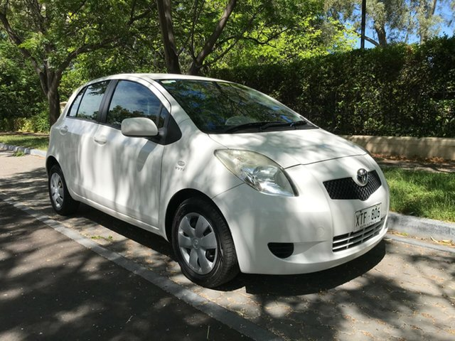 Used Toyota Yaris NCP90R YR, 2008 Toyota Yaris NCP90R YR White 4 Speed Automatic Hatchback