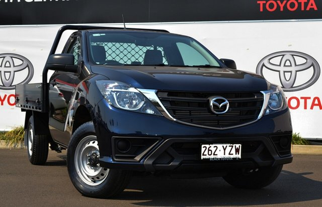 Used Mazda BT-50 UR0YE1 XT 4x2, 2019 Mazda BT-50 UR0YE1 XT 4x2 Blue 6 Speed Manual Cab Chassis